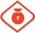 Image with a pot and rupee sign embedded on it