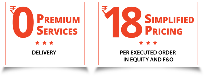Delivery Brokerage Rs 0/- , Intraday Brokerage Rs 18/-