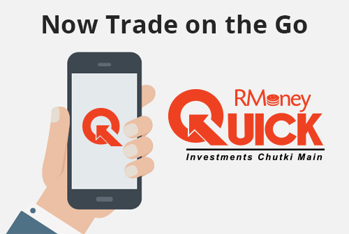 RMoney Quick a Mobile trading app.