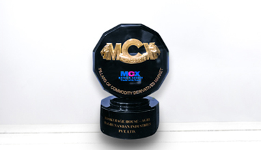 Received 'Pillars of Commodity Derivatives Market Award 2018-19' from MCX