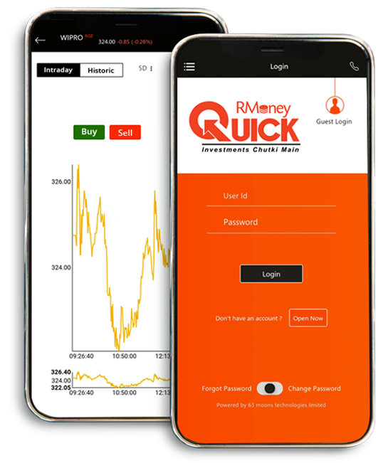 RMoney Quick-Mobile Trading App.