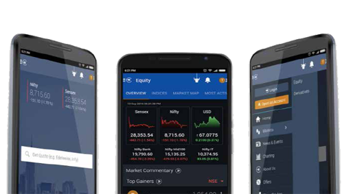 Download RMoney Quick a mobile trading app.