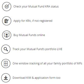 Online Mutual fund