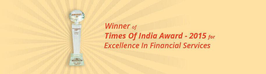 Times of India Award-2015