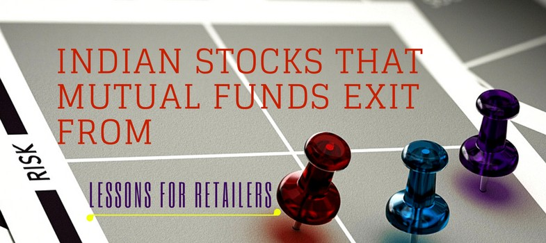 Indian stocks that mutual funds exit from