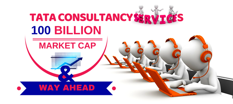 TCS 100 billion market capitalization and way ahead